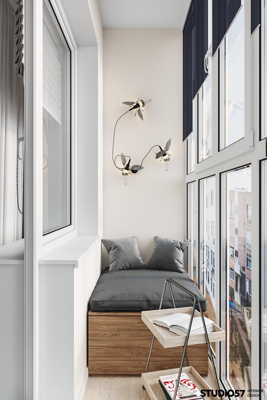 Балкон. Вид 1.