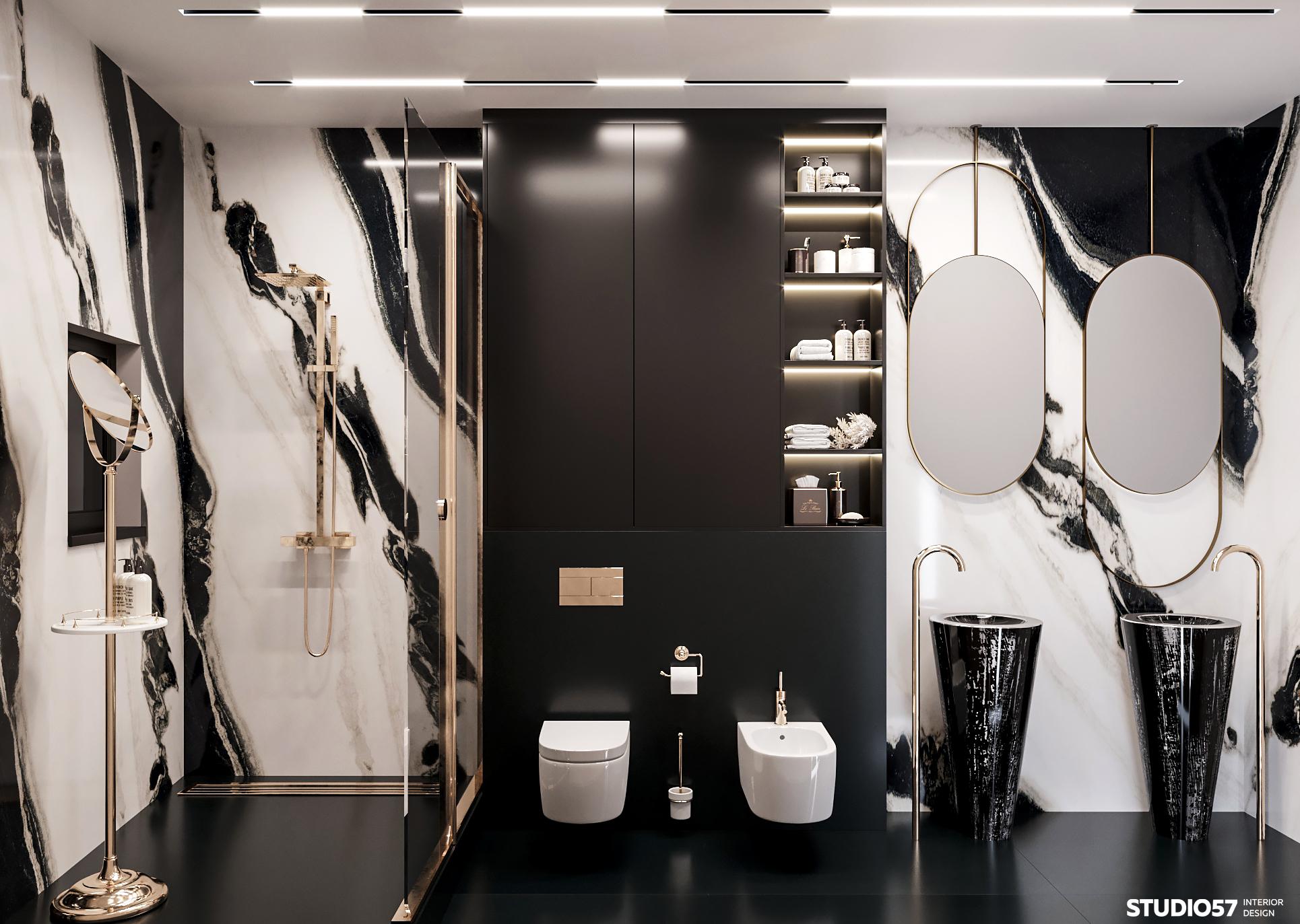 Ванная комната 1. Вид 1.