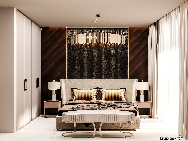 Дизайн спальни 2. Вид 1.