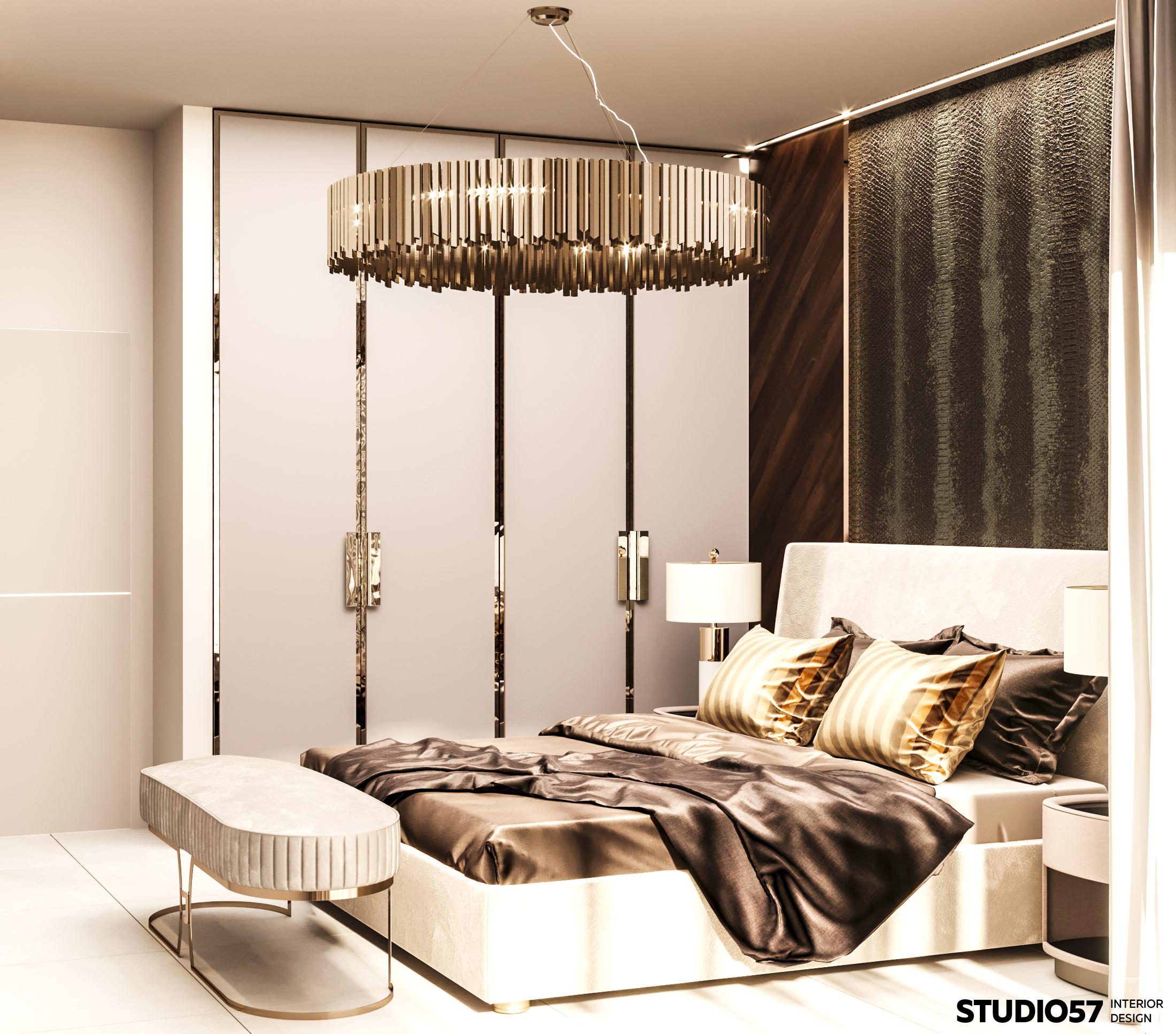 Дизайн спальни 2. Вид 2.