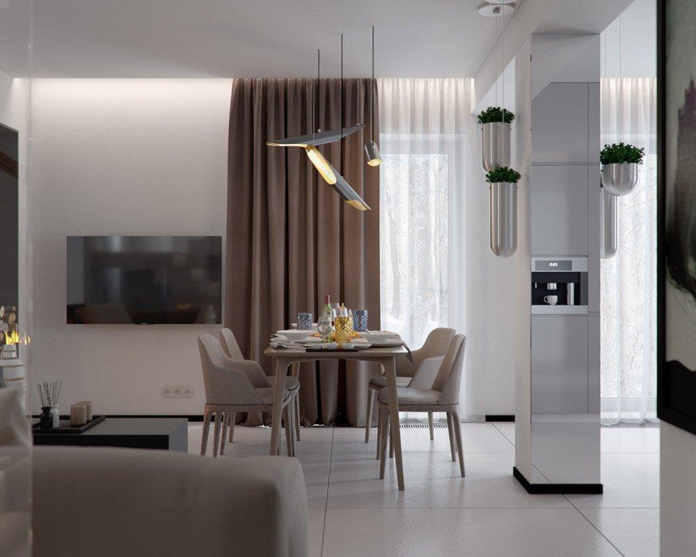 Декор столовой зоны в доме