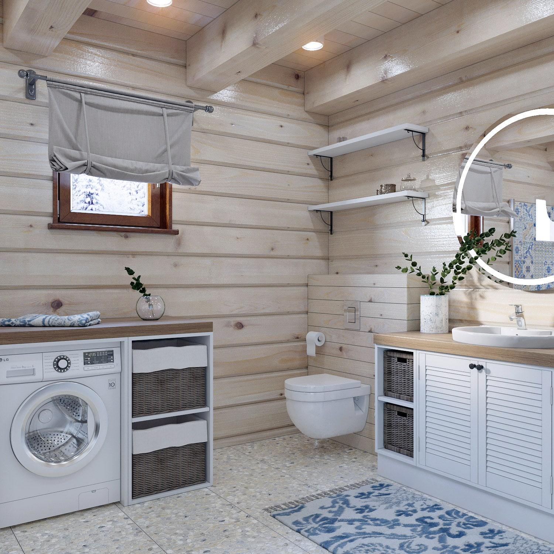 Дизайн санузла в двухэтажном доме