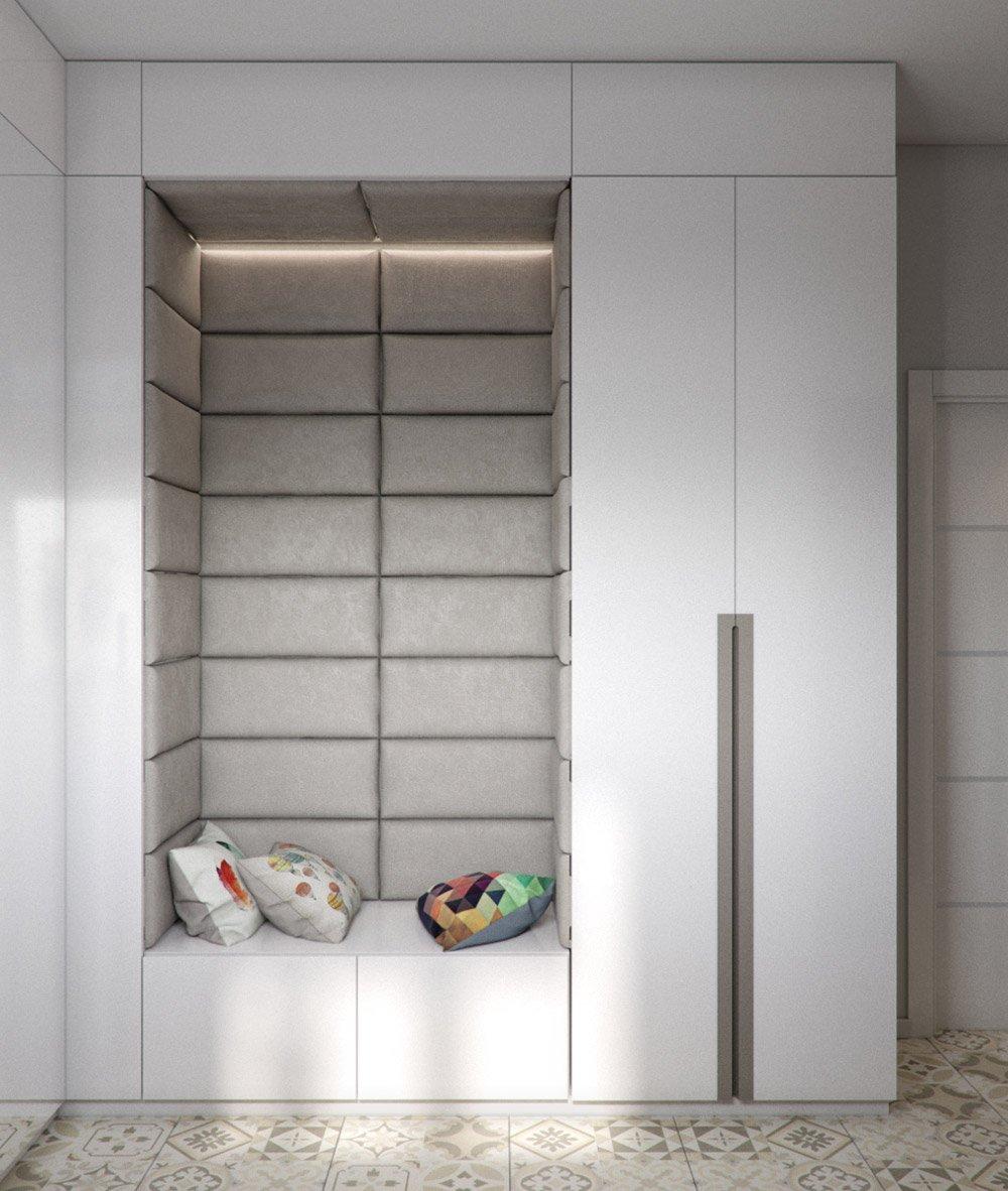 Мягкий уголок в шкафу