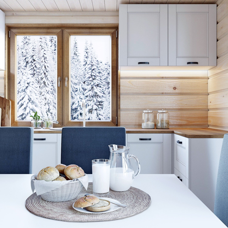 Решение освещения рабочей зоны в кухне