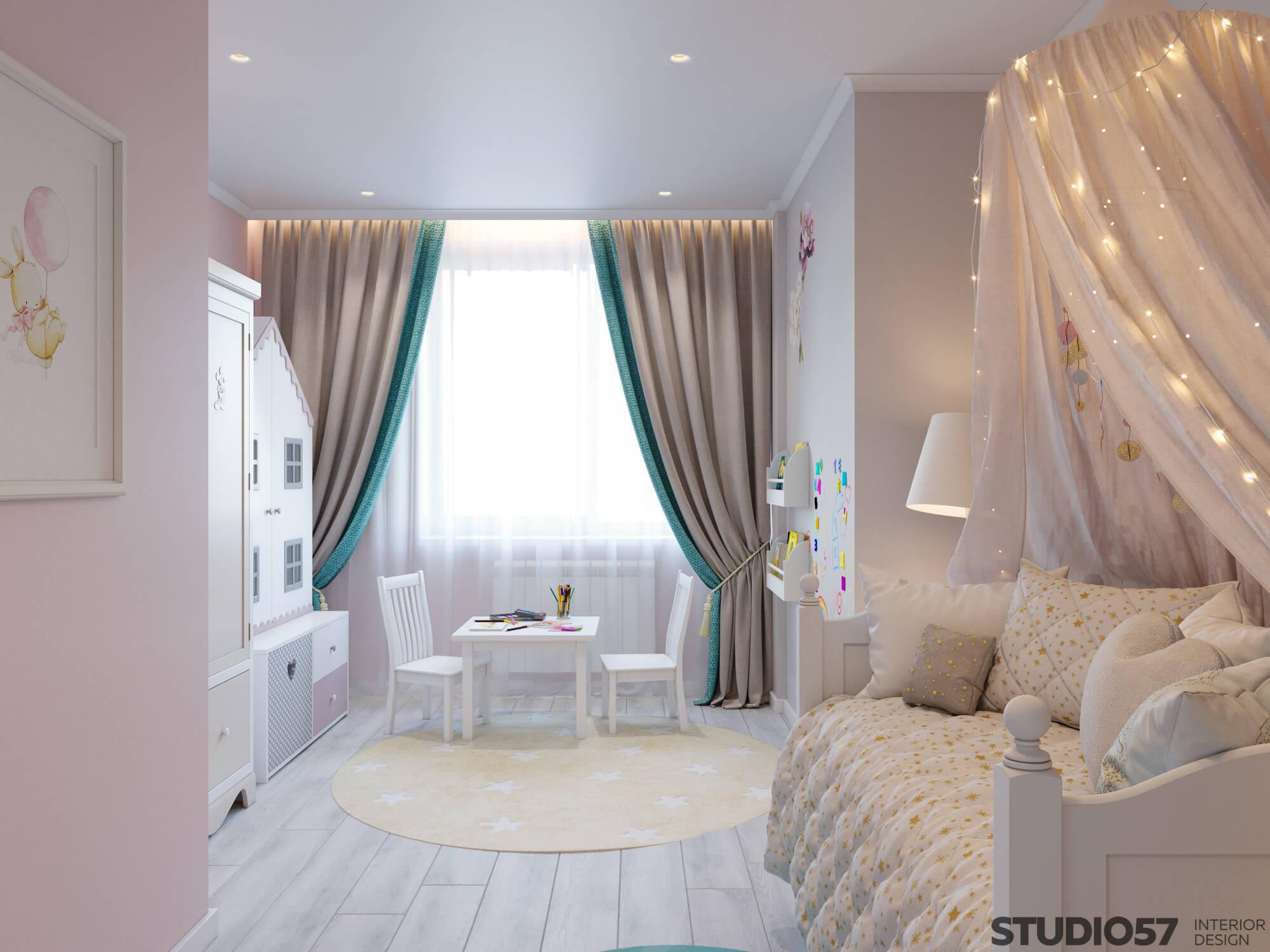 Children's room decor for girls